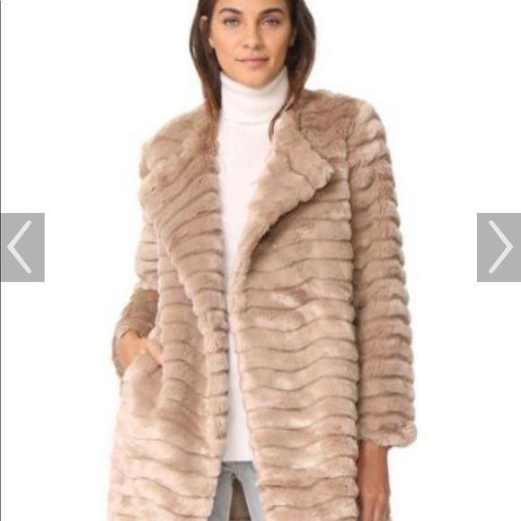 BB Dakota Jackets & Blazers - BB DAKOTA faux fur jacket